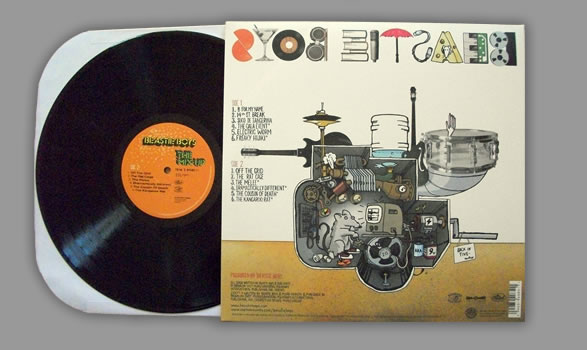 Beastie Boys The Mix Up LP - back