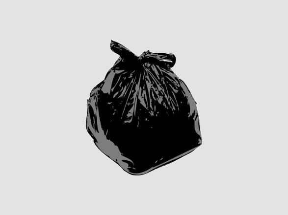Hard Life Free Vector Pack 06 Trash Bag