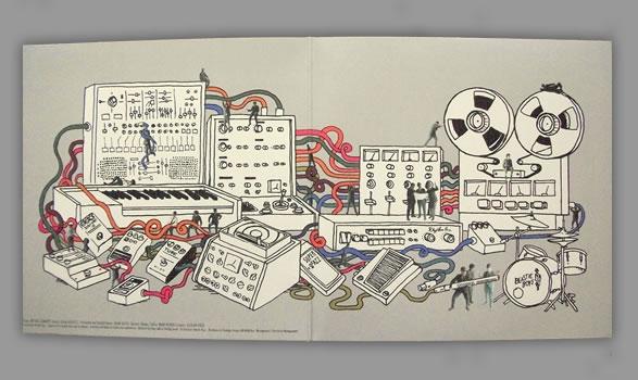Beastie Boys The Mix Up LP - Inside